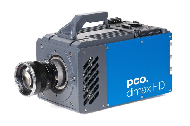 pco.Dimax HD high speed camera